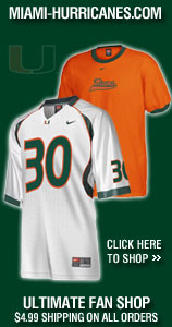 Miami Hurricanes Team Fan Site